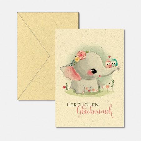 Glückwunsch Elefant