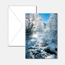 Bächlein mit Schnee