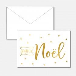 joyeux Noël Gold
