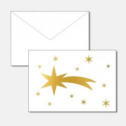 Stern von Betlehem Gold