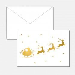Weihnachtsmann Gold