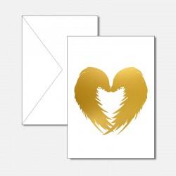 Flügelherz Gold