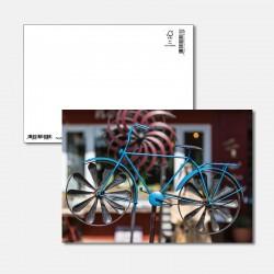 Kunstvolles Fahrrad
