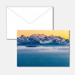 Berner Oberland im Abendlicht