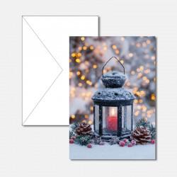 Weihnachtslicht Laterne