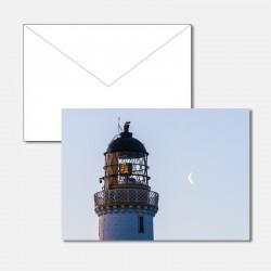 Leuchtturm mit Mondsichel