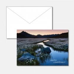 Trauerkarte Flusslandschaft...