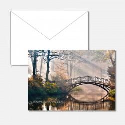 Trauerkarte Brücke im...