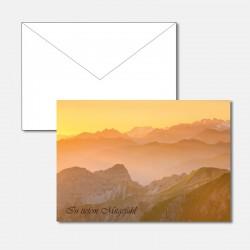 Trauerkarte Alpenwelt