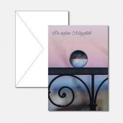 Trauerkarte Glaskugel