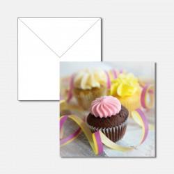 Geburtstagskarte Cupcakes