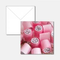 Geburtstagskarte Bonbons