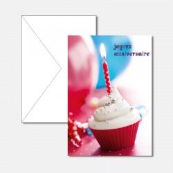 Geburtstagskarte Törtchen...