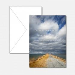 Weg und Wolken