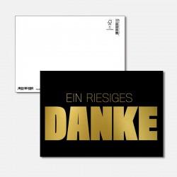 Postkarte Goldstück ein...