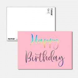 Postkarte Surprise Happy...