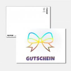 Postkarte Surprise Gutschein