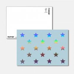 Postkarte Surprise Sterne