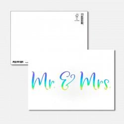 Postkarte Surprise Mr. & Mrs.