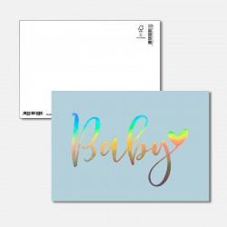 Postkarte Surprise Baby