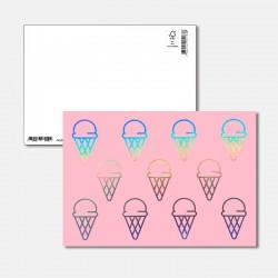 Postkarte Surprise Glace