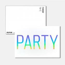 Postkarte Surprise Party