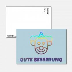 Postkarte Surprise Gute...