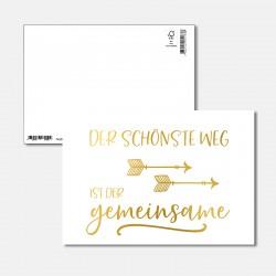 Postkarte Goldstück der...