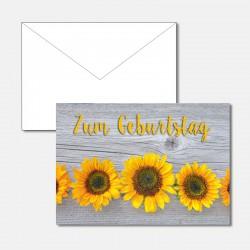 Zum Geburtstag Sonnenblumen