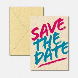 save the date fresh & trendy