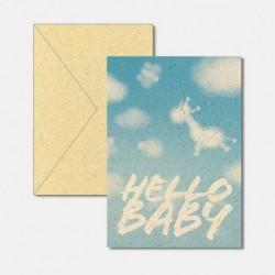 Baby blue fresh & trendy
