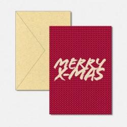 X-Mas Merry X-Mas red fresh...