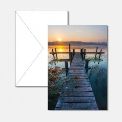 Fischersteg bei Sonnenaufgang