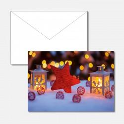 Weihnachtsstimmung mit Stern