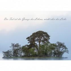 Trauerkarte Insel in Highlands