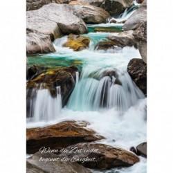 Trauerkarte Wasserverlauf...