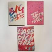 🥳🎉Geburtstage sind die Jahresringe des Lebens. Mit jedem Jahr ist man wieder ein Stück gewachsen. 🎉🥳 (Cornelia Sander)  Es gibt so viele grossartige Geburtstagskarten. Für welche würdest du dich entscheiden?  #naturverlag #geburtstagskarte #graspapier #graskarte #birthday #danke #karte #kartenausgraspapier #kartenausgras #happybirthday #foryou