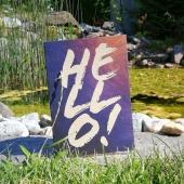 😍 Hello Weekend! 😍 Wir wünschen allen ein sonniges Wochenende! ☀️😎🌳 . . . . . #naturverlag #graspapier #graskarte #lettering #karte #kartenausgraspapier #kartenausgras #art #helloweekend #summer