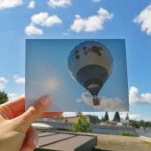 🎈Wer hoch fliegt sieht weiter 🌤 Anke Maggauer-Kirsche . . . . . #naturverlag #grusskarte #karte #naturfoto #natur #nature #sommer #spätsommer #herbst #heissluftballon #ballon  #summer #fall #thomasheitmar #thomasheitmarfotografie