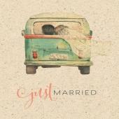 ❤🚐 Just married 🚐❤ . . . . . #naturverlag #geburtstagskarte #graspapier #graskarte #veganpaper #justmarried #hochzeit #hochzeitskarte #karte #kartenausgraspapier #kartenausgras